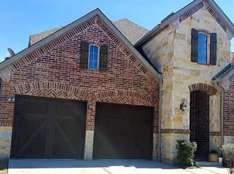 Garage Door Staining Service Plano